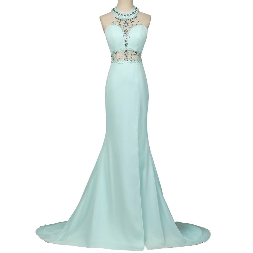 Online Get Cheap Blue Mermaid Prom Dress -Aliexpress.com ...