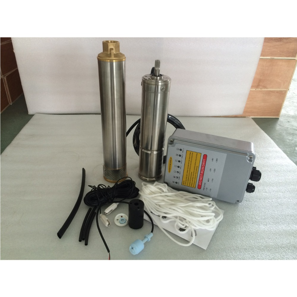 water pump 12v 24v 36v high pressure for village and town water supply 3 years warranty 3SPC2.8/52 D36/500