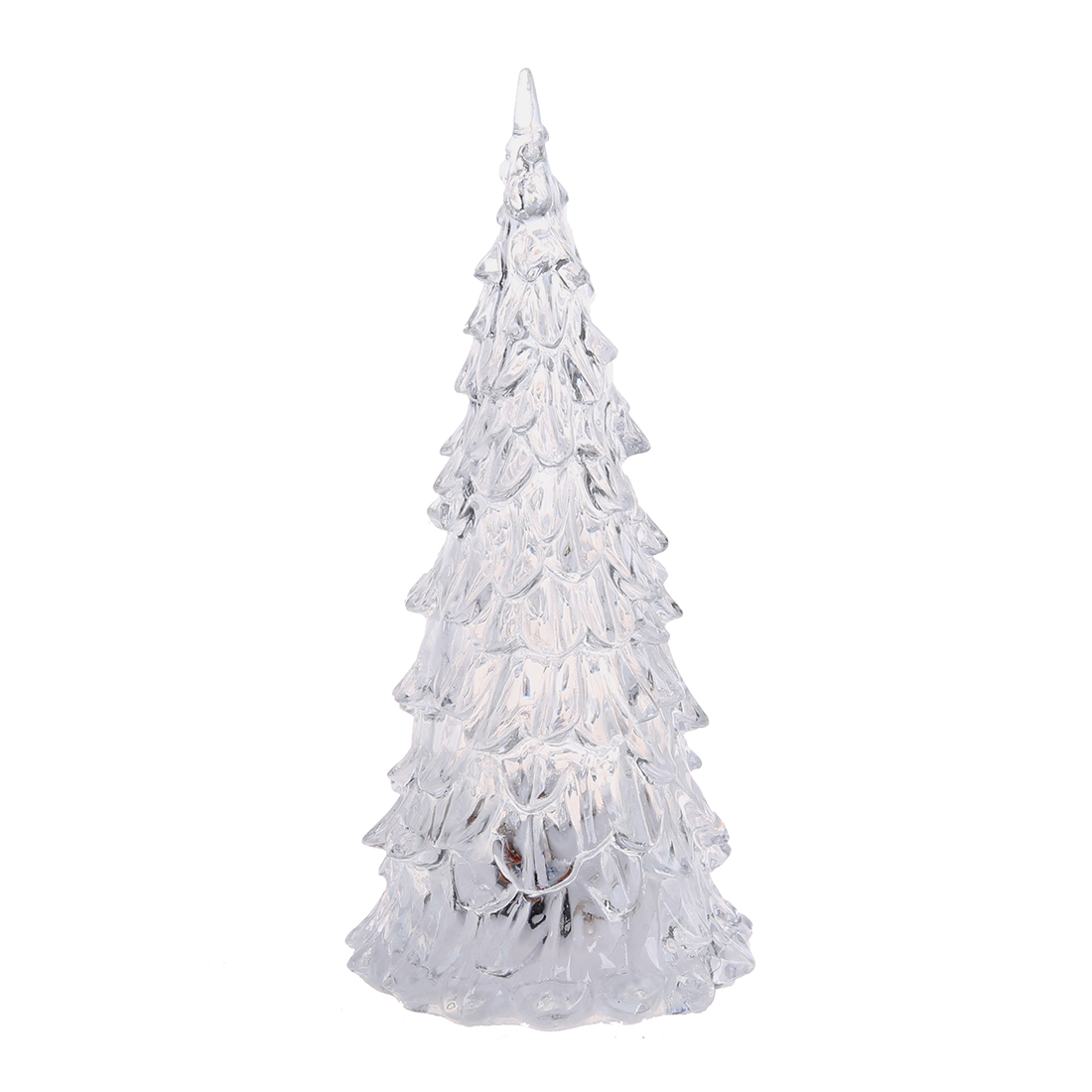 KEOL Best Sale Romantic Christmas Tree Shape 7-Color Changing Flickering LED Light