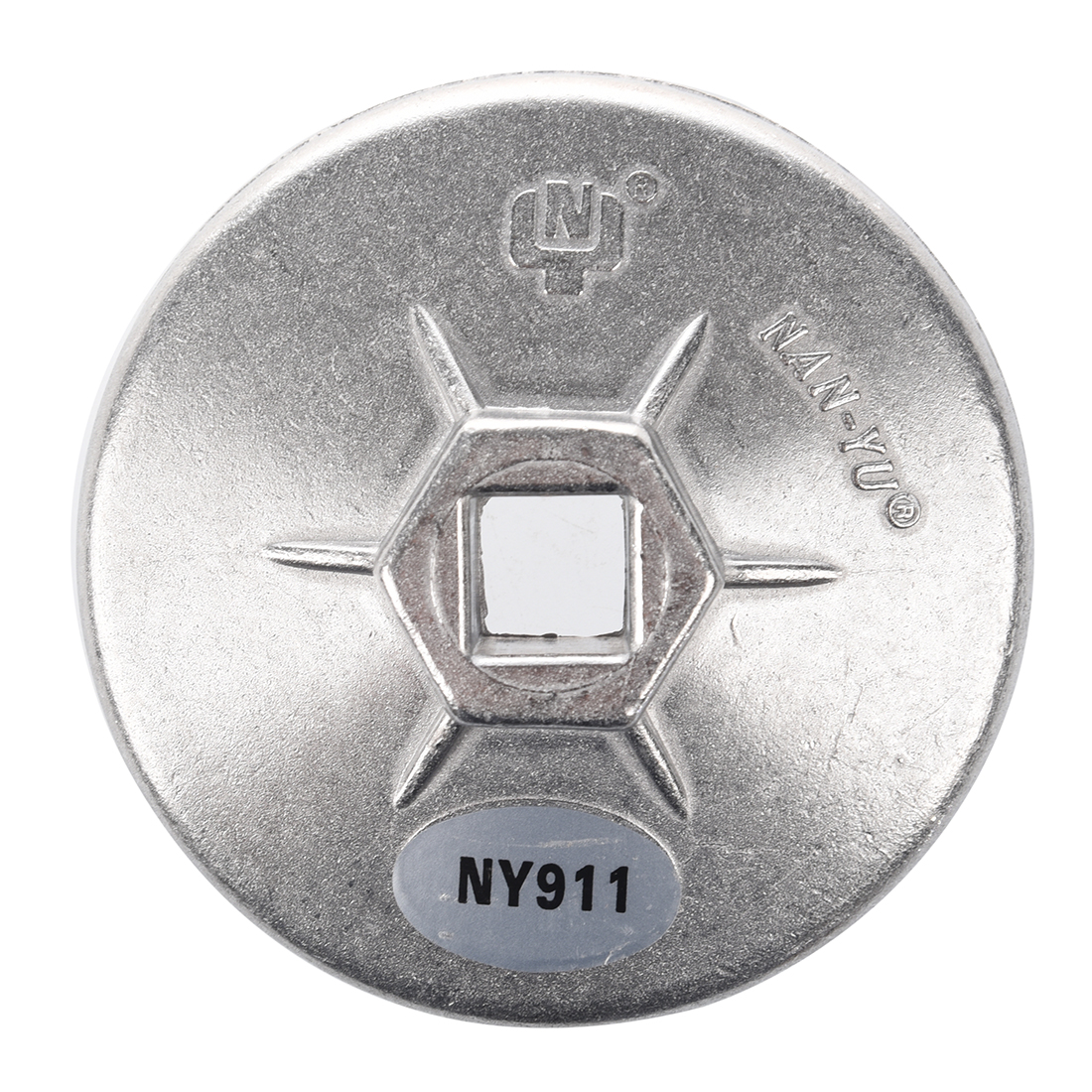 Both Sides Protrude Inside Diameter 76mm 12 Flutes Oil Filter Cartridge Cap Wrench Tool Socket Remover
