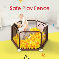 Baby Playpen Fence Baby Climbing Play Fence Toddler Indoor Safety Play Pool Child Protection Fence 0~5 Years