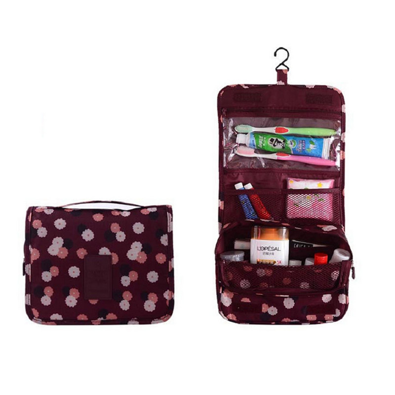 Makeup Organizer Bag Tourist Portable Folding Multifunction Wash Cosmetic Large Capacity Hanging Type Pa838502 In Bags Cases From Luggage