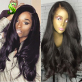 7A Cheap Brazilian Virgin Hair Lace Front Wigs Wet Wavy Full Lace Human Hair Wigs For Black Women Bleached Knots Full Lace Wigs