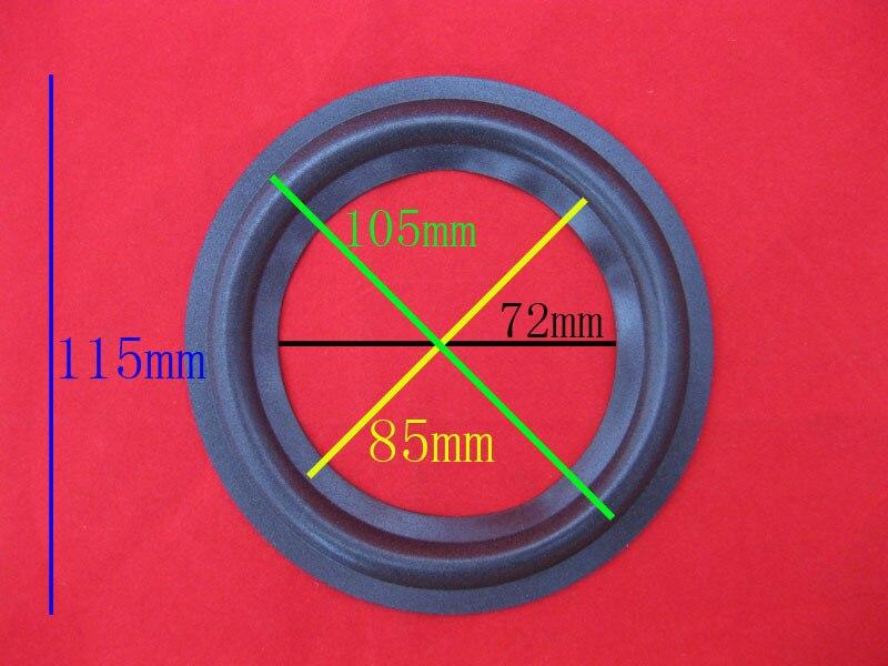 "2pcs 4.5/""inch WL-106A Speaker rubber edge Speaker repair Accessories Surround"