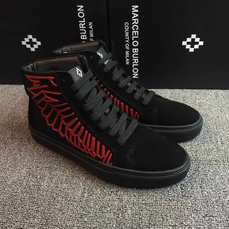 DHL FREE WITH BOX!!! MB MARCELO BURLON CANVAS SNAKE SHOES