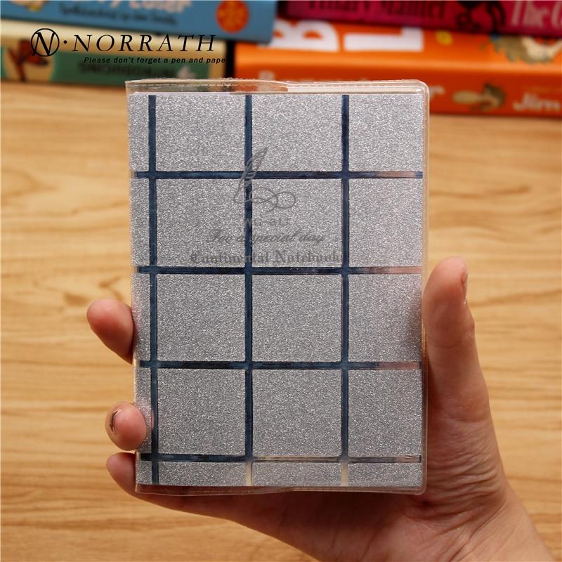 NORRATH Kawaii Kanceliarinės prekės Mielos blizgios grotelės Mini - Bloknotai ir užrašų knygelės - Nuotrauka 6
