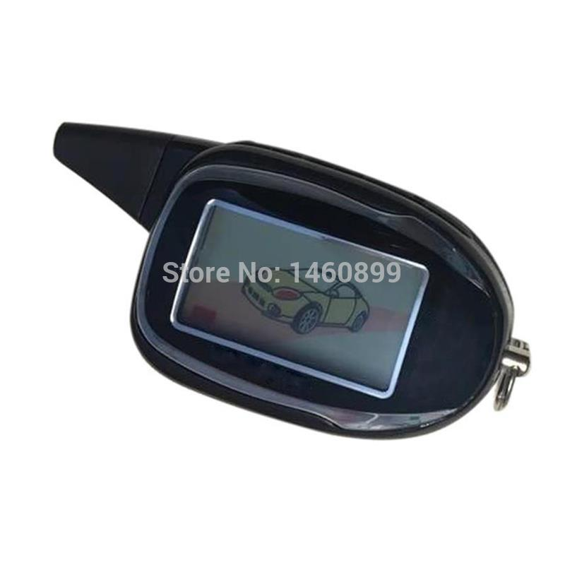2-way M7 LCD Remote For Scher-khan Magicar 7 Two Way Car Alarm System LCD Remote Control Key Fob Keychain Sher Khan Magicar M M7