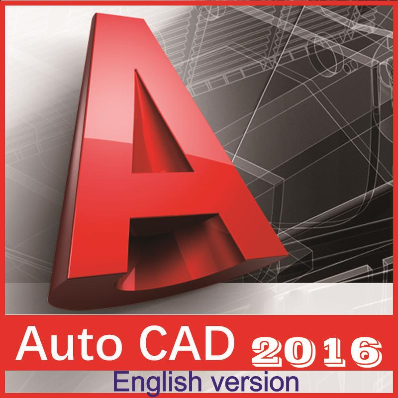 AutoCAD 2016/2018 English languages for win7/8/10 32/64 bits languages for america