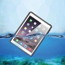 Полностью герметичный Водонепроницаемый Чехол для iPad Air 2 Водонепроницаемость противоударные Чехлы для iPad Pro 9,7 дюймов Дайвинг Подводные Coque