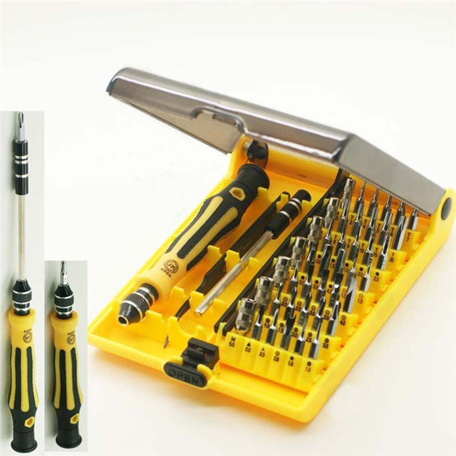 Precision 45 In 1 Electron Torx MIni Magnetic Screwdriver Tool Set hand tools Kit Opening Repair Phone Tools