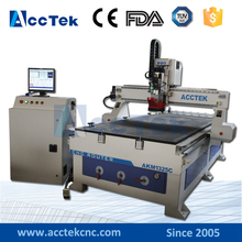 AKM1325C Automatically Changing Tools high speed Wood Engraving Machine China metal cnc router With CE Certificate