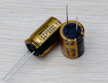30PCS new Japanese original nichicon audio electrolytic capacitor FG 1000Uf/25V free shipping new aluminum electrolytic capacitor 25v 1000uf 1000uf 25v 10 17mm lcd commonly used