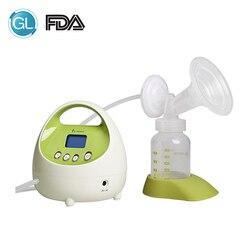 GL Elektrische Brust Pumpe Automatische Brust Milch Extractor FDA Baby Fütterung Milch Pumpen LCD Display 120ml Flasche mit Freies geschenk