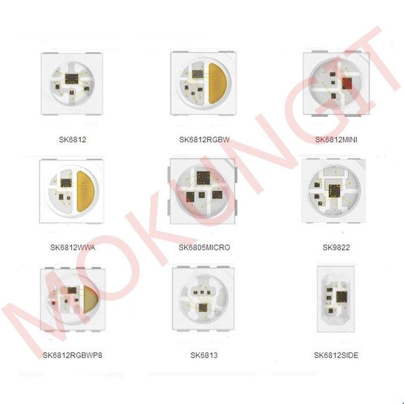 LED Chip SK6812 SK6812 MINI SK6813 SK9822 SK6812 RGBW SK6812WWA 5050 RGBW 5050WW SK6805 2427 SK6812