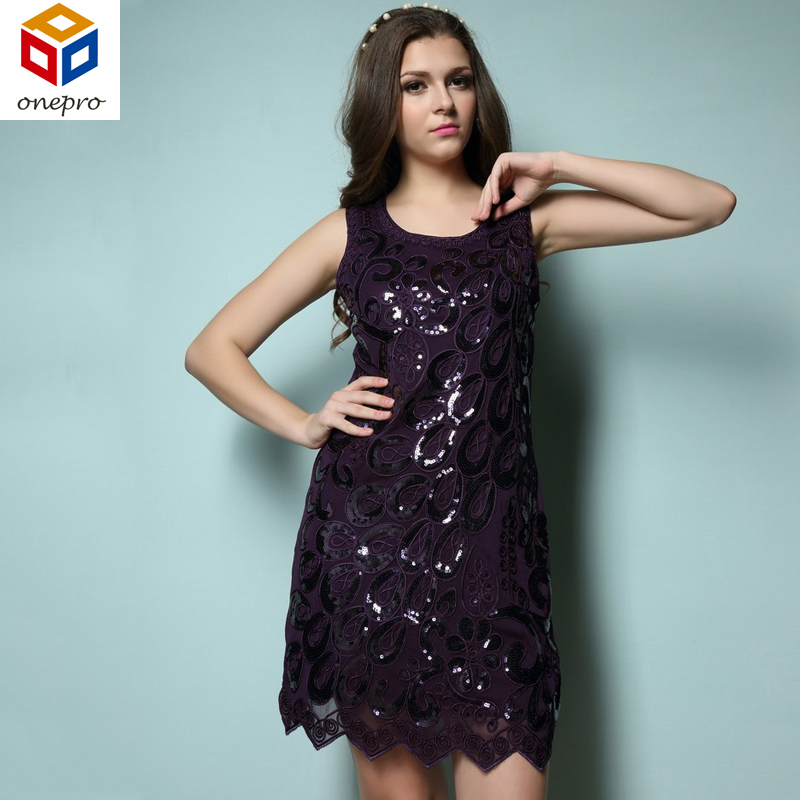 Summer allover sequin and beaded embroidery dress 20s vestido sequin party  mini sleeveless dress 89074-in Dresses from Women s Clothing   Accessories  on ... 75901a2f0a6b
