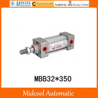 MBB32*350 bore 32mm stroke 350mm double acting pneumatic cylinder