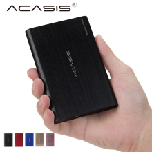 Acasis FA-08US HDD Enclosure 2.5 inch USB 3.0 High Speed Metal External Hard Drive Enclosure Shell for PC Computer SATA HDD SSD