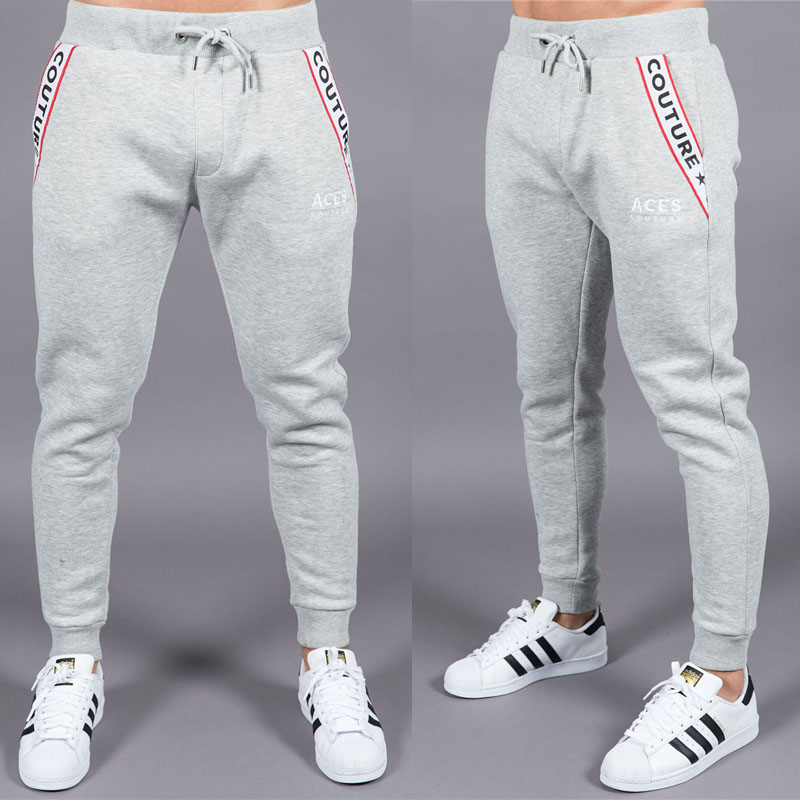 2018 high quality jogger trousers men's fitness sweatpants runners athlete brand clothing autumn gyms sweatpants trousers