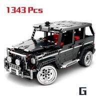 1343Pcs Technic Series Benzes Big G Car Set Building Blocks Compatible Legoings City Vehicle DIY Bricks Children Toys Boy Gifts