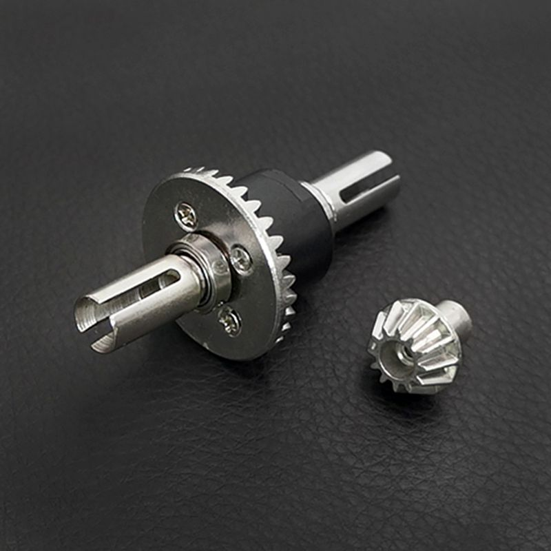 Premium Quality Wltoys 12428 12423 1/12 RC Parts 12428-0091 12428-0133 Rear and Front Differential Set