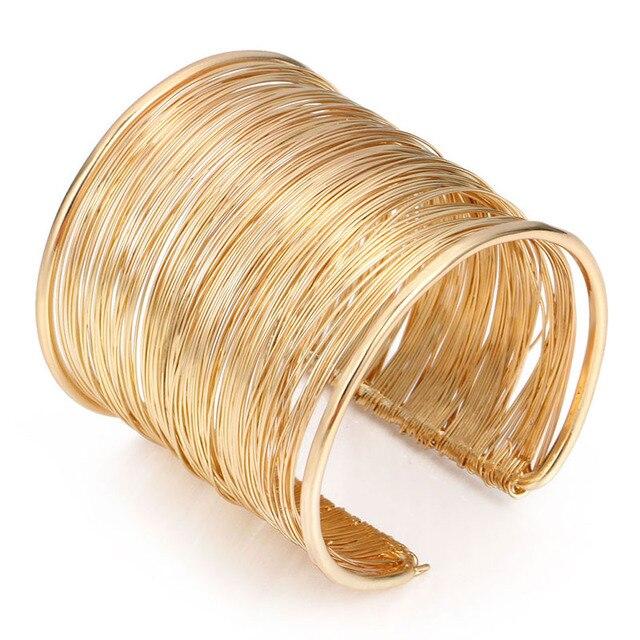 Wide Open Cuff Bracelets...