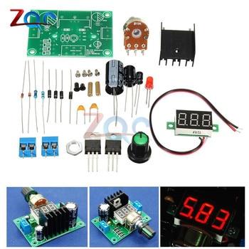 LM317 регулируемый регулятор напряжения, электроплата, комплект для производства, электронные детали для самостоятельного изготовления, для большой средней школы