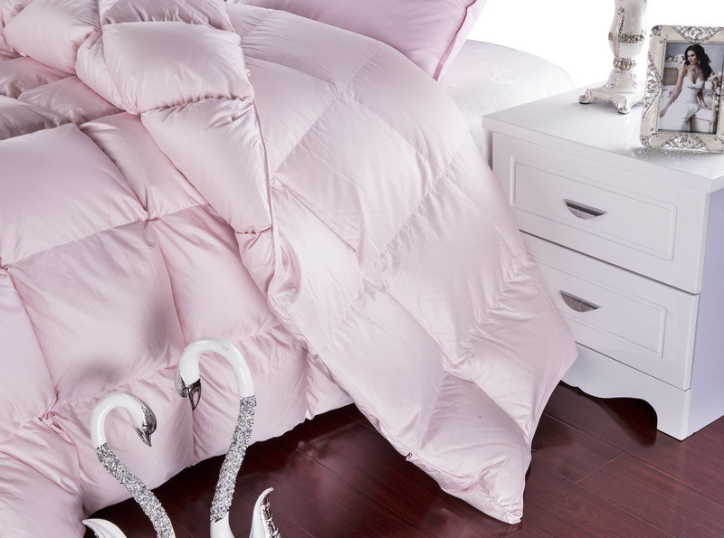 grade a natural 95 goose down comforter twin queen king size 750fp quilt hypo allergenic