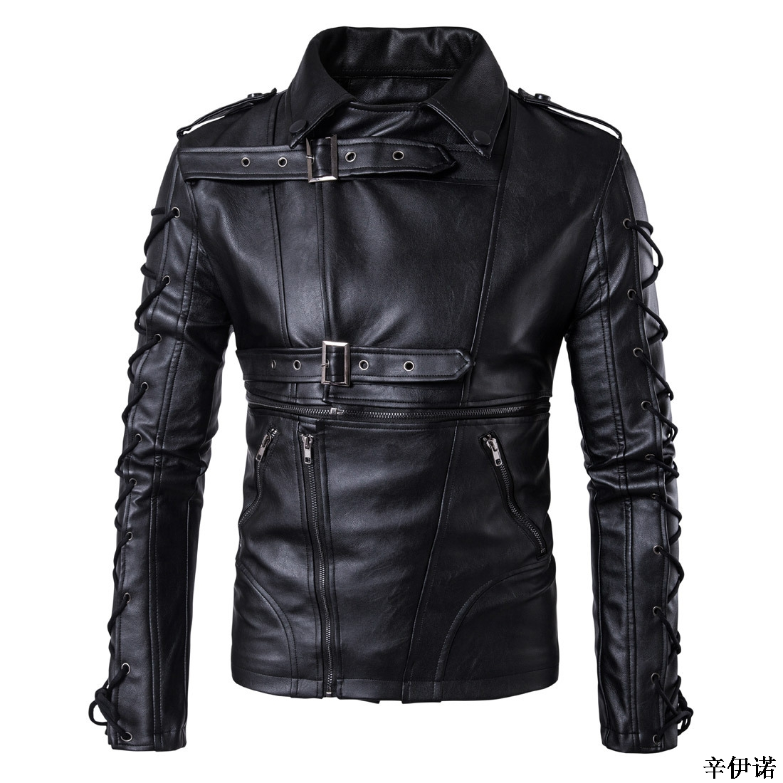 04b16749f US $42.9 |Hot M 5XL Men's autumn winter brand rock leather jacket,  motorcycle jacket, men leather clothes Slim mens leather jacket Coats-in  Jackets ...