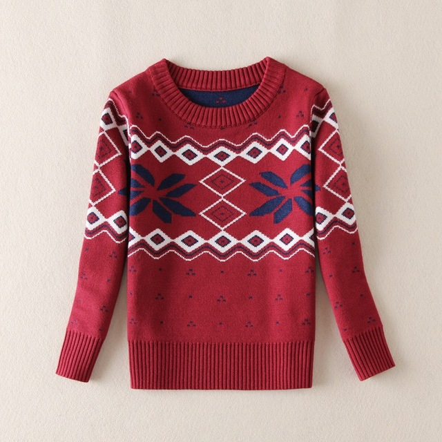 Boys Knit Vest Fashion Kids Sweater Baby Boys Sweater Children Autumn Winter Spring Sweater Kids Striped Printed Sweater 2 Color