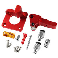 Extruder Kit Aluminum Alloy Practical Durable Direct Drive Heatproof Upgrade Double Pulley Parts 3D Printer For CR 10S PRO