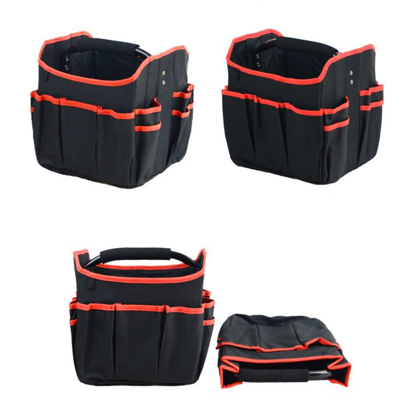 Foldable Tool Bag Waterproof Handbag Tool Organizer Storage Bag Hardware Electrician Repair Storage Work Bag