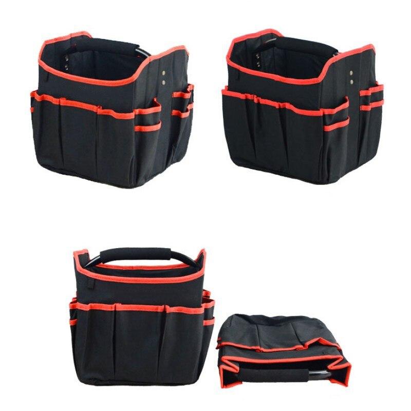 Foldable Tool Bag Waterproof Handbag Tool Organizer Storage Bag Hardware Electrician Repair Storage Work Bag