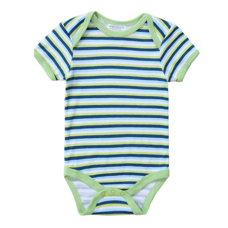 2018 Newly Baby Bodysuits 100% Cotton Infant Body Short Sleeve Clothing Jumpsuit Cartoon Animal Printed Baby Boy Girl Bodysuits (9)
