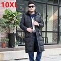 Зимняя куртка код колено Clubman высокий X-ЛОНГ жира костюм long cold пво пуховик мужчин