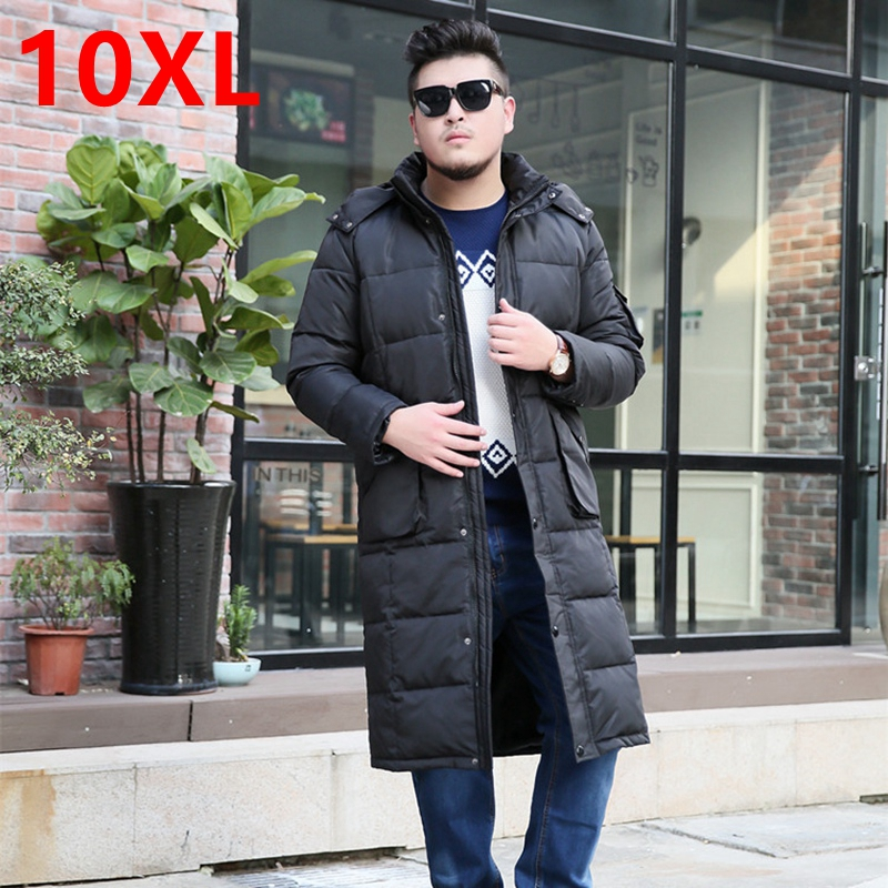 The winter jacket code knee clubman tall x long fat suit long cold air defense down