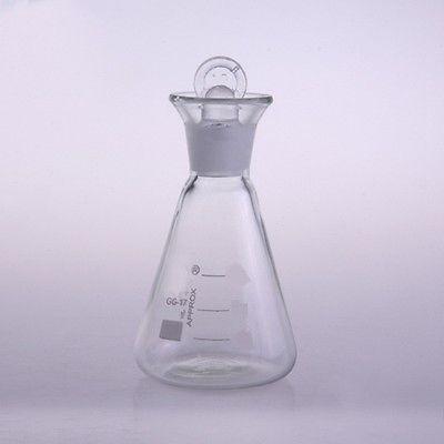 1000ml Iodine determination Flask Borosilicate Glass For Chemistry Laboratory FREE SHIP tatsuo kaiho iodine chemistry and applications