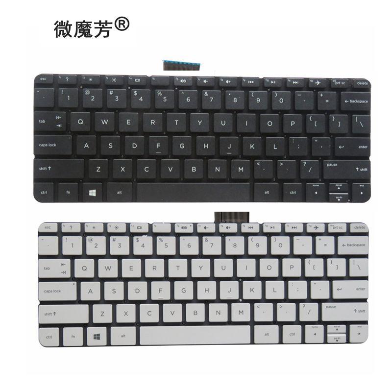 New  Keyboard For HP Stream 11-d 11-d011wm 11-D010WM 792906-001 794447-001 white