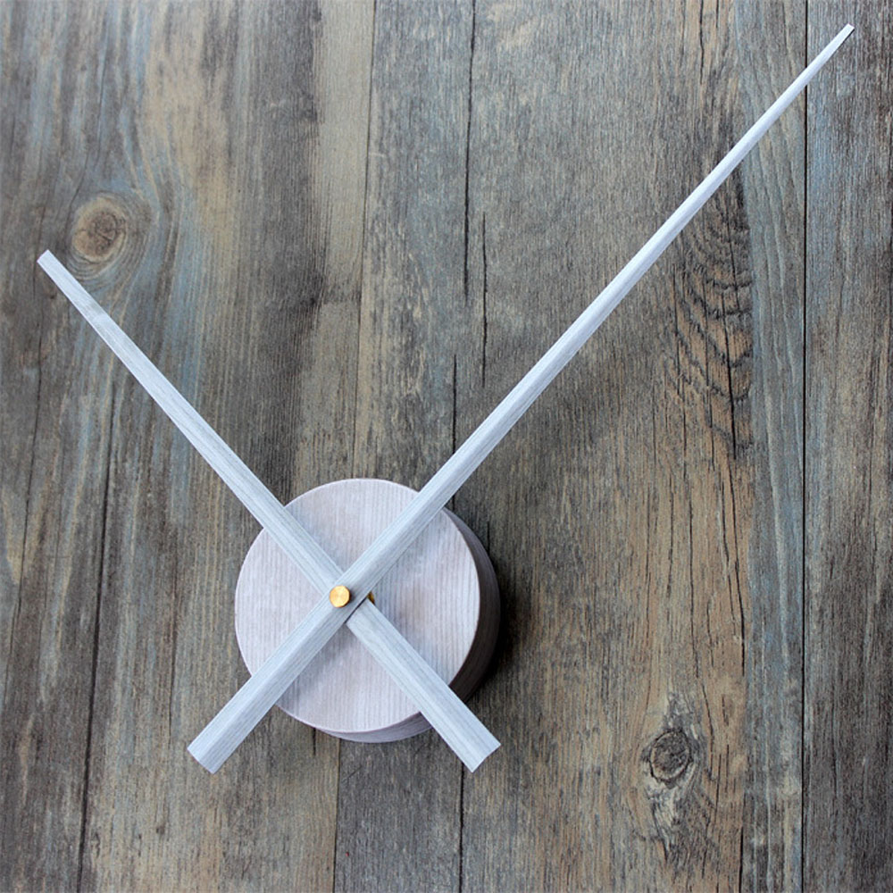 Diy Wall Clock Modern Design Clock Mechanism Large Pointer