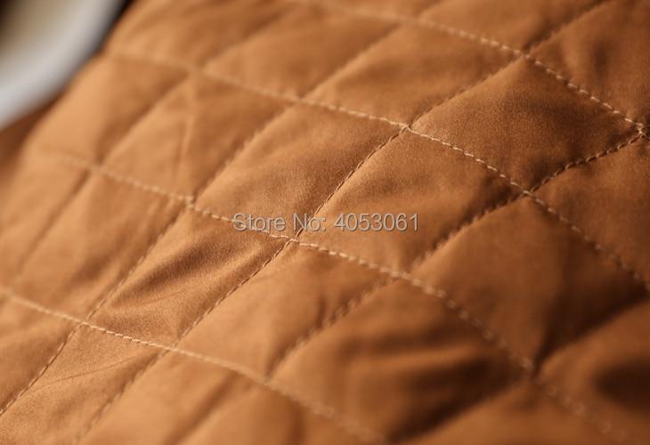 Luxe Longues Capuche Show Veste Similicuir Frontquilted Femme Fourrure Mode Texturé Intérieur Up Renard Manteau Hiver Manches 2018 De À Zip Avec As 0vxxU1qn