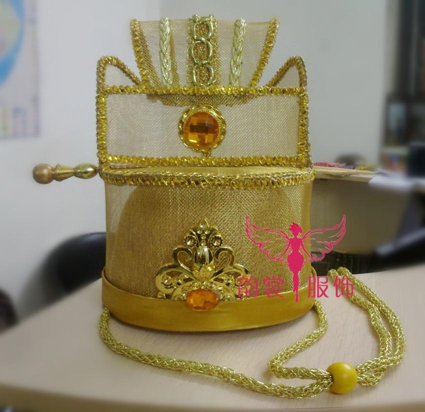 TV Play Mei Ren Tian Xia Court Officer's Tiaras Wedding Groom's Hat аксессуары mei xia jewelry 925