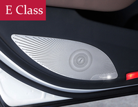 Car Styling Interior Door Stereo Speaker Net Circle Cover Trim For Mercedes Benz E Class
