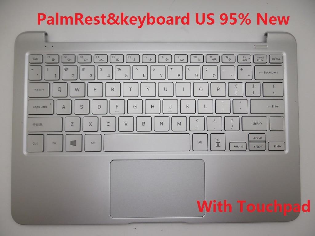 Laptop PalmRest&keyboard For SAMSUNG NP900X3N 900X3N English US Korea KR BA59-04164B HMB8152GSA With Backlit laptop palmrest
