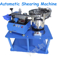 Automatic Bulk Capacitance Shearing Machine LED Lights Capacitance Shearing Equipments Single sided Shearing Machine