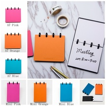 MINI/A7 SIZE Memo pad Fashion Portable Message Book back to school stationery ring notebook CX19-001