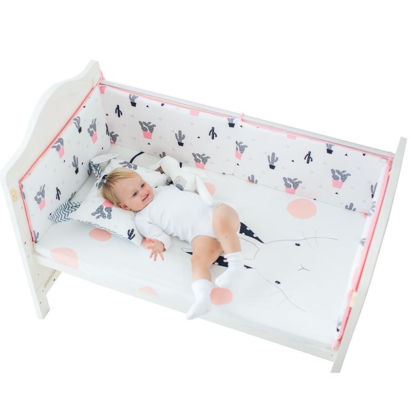100% Katoen Bed Linnen Positie Wieg Hoeslaken Zachte Baby Bed Matrashoes Cartoon Print Pasgeboren Beddengoed Voor Cot Voorzien Vel Een Grote Verscheidenheid Aan Modellen