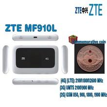 Odblokowany ZTE MF910L CAT4 150 mb s 4G LTE Wireless Router mobilny Hotspot WiFi z bezpłatnym prezentem (losowo wyślij) tanie tanio Wi-fi 802 11b Wi-fi 802 11g Bezprzewodowy dostęp do internetu 802 11n Mini wifi Firewall 2 4g i 5g 150 mbps sasadigital