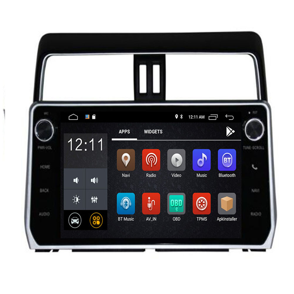 3/4G SIM LTE Car DVD for <font><b>Toyota</b></font> Prado Land Cruiser 120 <font><b>150</b></font> <font><b>2018</b></font> Android 9.0 Octa 8 Core 4G RAM 32G ROM <font><b>Radio</b></font> GPS BT Head units image