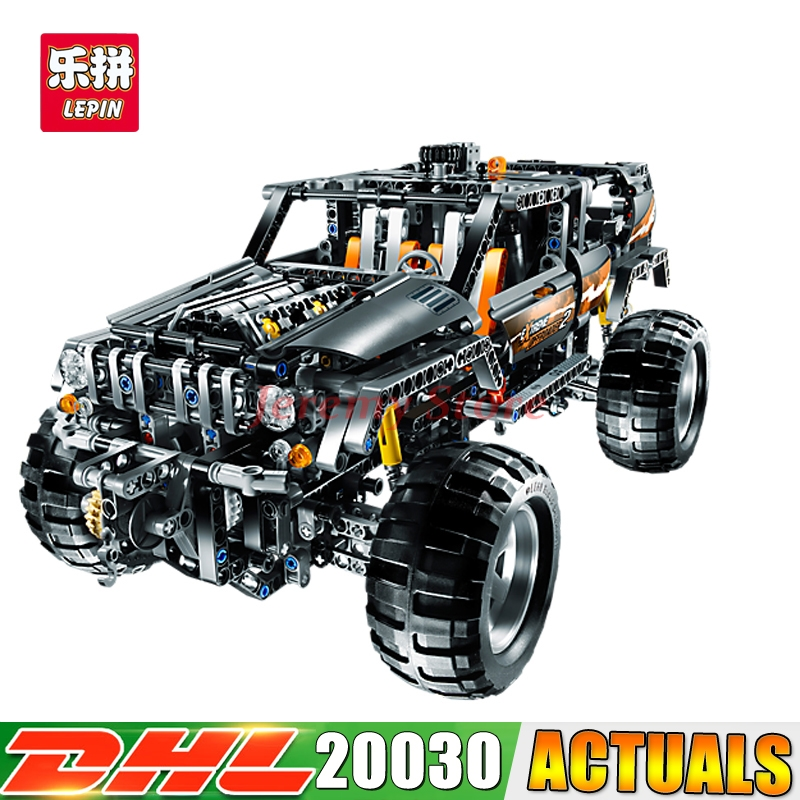 DHL LEPIN 20030 1132Pcs The Off-Roader Set Children Educational Building Blocks Bricks DIY Toys Model 8297 lepin 20030 1132pcs technik ultimate off roader cars legoingly 8297 sets building nano block bricks toys for boy gifts