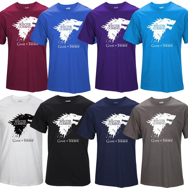 Game of Thrones Men T-shirt 2016 Collection