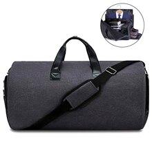 Сумка-трансформер для одежды, дорожная сумка, 2 в 1, сумка для одежды Weekender, сумка для сна, чемодан с отделением для обуви